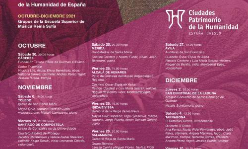 VIII ciclo 'Música de Cámara en las Ciudades Patrimonio de la Humanidad de España'
