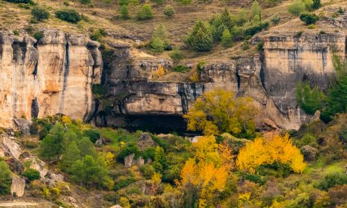 Camino a la Cueva de la Zarza