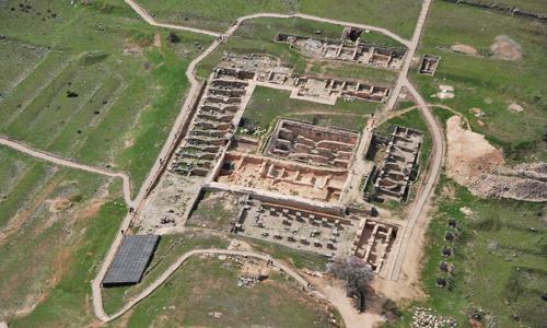 Yacimiento Arqueológico de Valeria